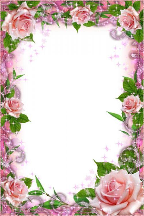 Днем, открытка с цветами без надписи вертикально