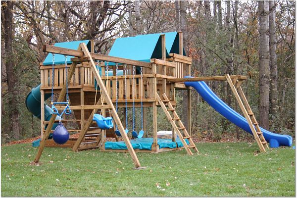 25 best ideas about swing set plans on pinterest wooden for Build it yourself swing set
