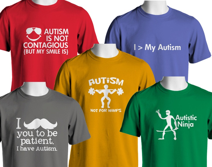 Awesome Autism T-Shirts (MADE TO ORDER). $15.00, via Etsy.