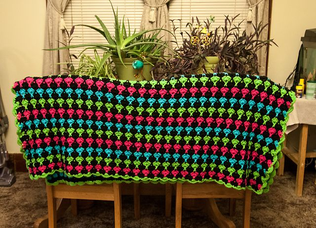 Juicy Fruits and Whipped Creme Throw pattern by Roseanna Beck   Pattern, Juicy  fruit, Crochet throw