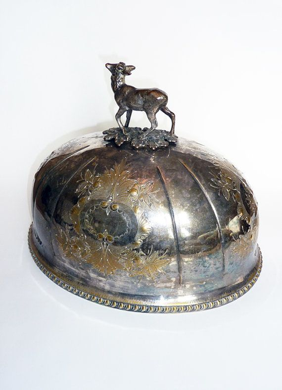 Victorian Silver Plated Serving Dome
