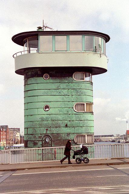 copenhagen - copper drawbridge tower 3