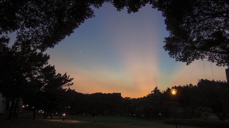 ✐ [10] _2013/7/11  這裡好像很容易拍到美麗的夕陽