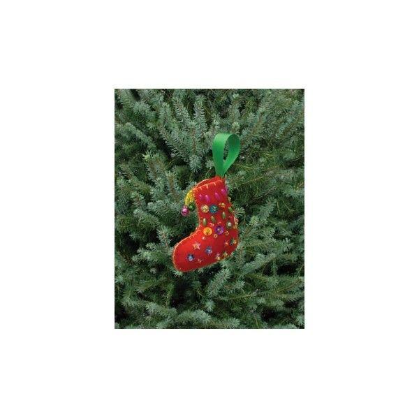 Kit couture décoration sapin de Noël : DIY Botte de Noël