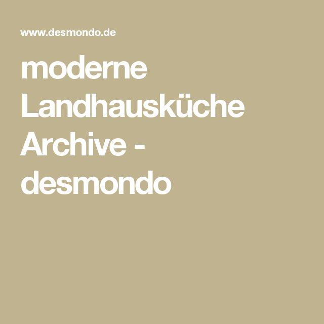 Superb moderne Landhausk che Archive desmondo