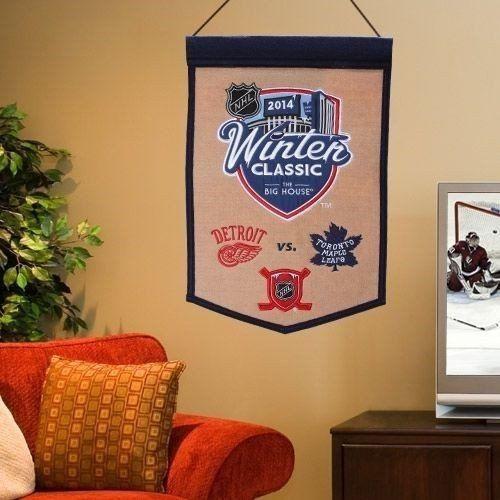 2014 NHL Winter Classic Traditions Banner