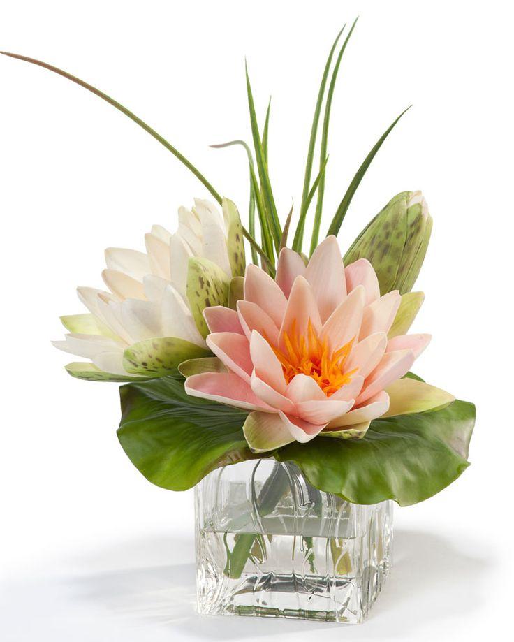 Best simple silk floral centerpieces images on pinterest