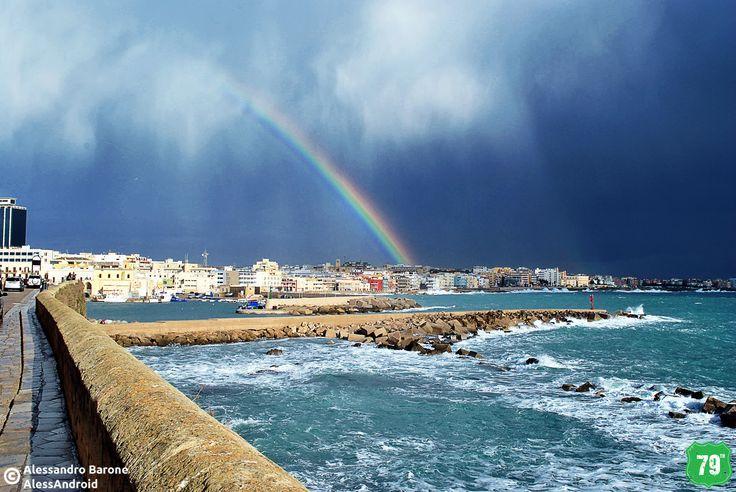 Arcobaleno #Gallipoli #Salento #Puglia #Italia #Italy #Viaggiare #Travel #AlwaysOnTheRoad #Holiday #Sea #Mare #Sun #Sole #Vacanze #Beach #Spiagge