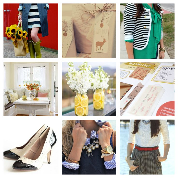 "Signature style board by @Em // Make your own and link up!  http://www.fieldstonehilldesign.com/2013/01/odp-signature-style-board.html ""My Signature Style - Inspired By @fieldstonehill 