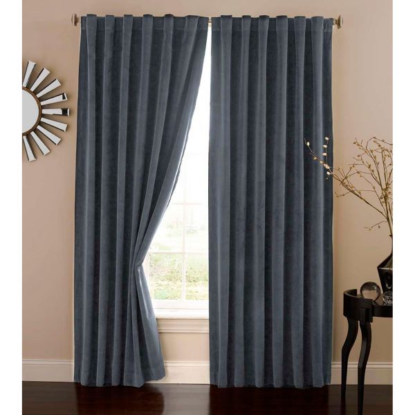 Absolute Zero Velvet Blackout Home Theater Curtain Panel 84 best Bed bath  beyond images on Pinterest 3 4
