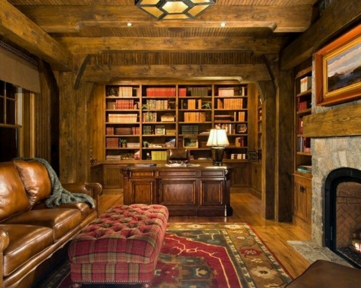 10 best images about study library home office on for Home decorating ideas den