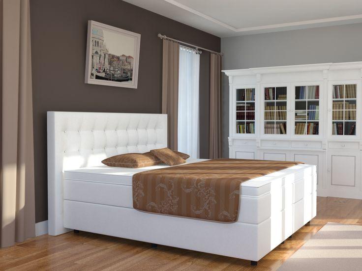 25 besten Boxpringbetten Bilder auf Pinterest Möbel discount - schöne schlafzimmer farben