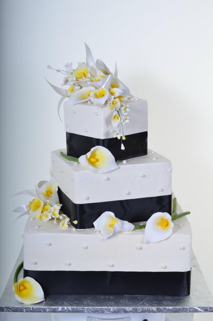 63 best cakes white & black images on pinterest | cakes, black and