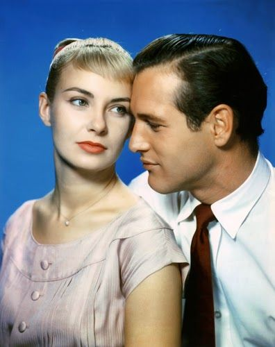"""Vintage Glamour Girls: Joanne Woodward & Paul Newman in """" The Hot Long Su..."""