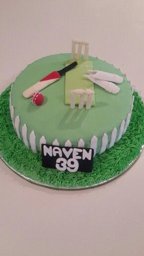 Cricket cake by Losh Naidoo