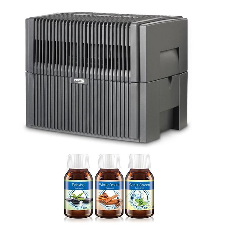 Venta LW25G Humidifier & Airwasher (Charcoal Gray/Metallic) (800 Square Feet Bundle)   The Venta LW45 Airwasher is a large room humidifier and air purifier engineered to capture Read  more http://shopkids.ca/venta-lw25g-humidifier-airwasher-charcoal-graymetallic-800-square-feet-bundle/
