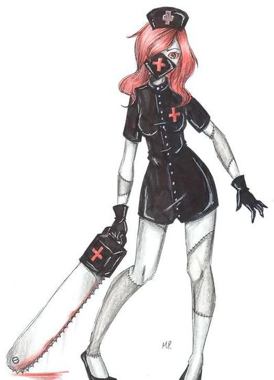 The Nurse Ann by MikuPapercraft.deviantart.com on @DeviantArt