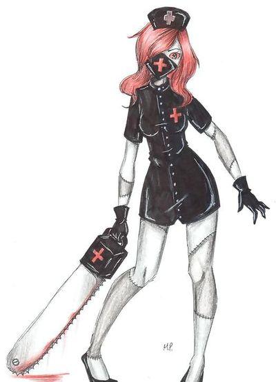 The Nurse Ann by MikuPapercraft.deviantart.com on @DeviantArt