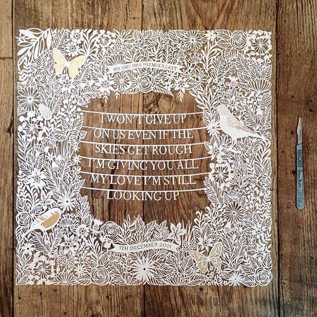 ⛪️ #paper#paperart#papercut#paperwork#papercutart#papercutter#papercutting#papercuttingart#paperartist#art#arts#artsy#artist#art_spotlight#art_we_inspire#instaart#instagood#instagram#instadaily#wedding#couple#artistic_share#artist_4_shoutout#georgialowpapercuts (Copyright Georgia Low) via ✨ @padgram ✨(http://dl.padgram.com)