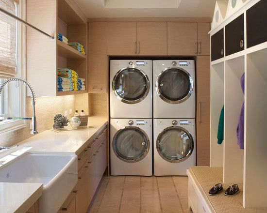 Double the washing!!!    Laundry Room Utility Sink Design, Pictures, Remodel, Decor and Ideas - page 19