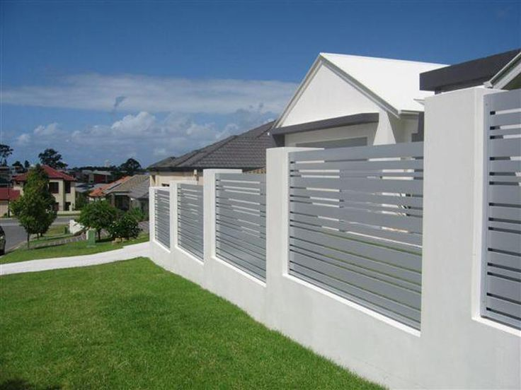 Horizon   Modern Aluminum Fence   Aluminum