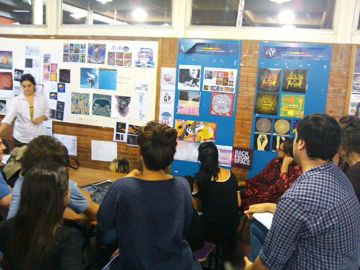 Dg3 Cátedra Rico. Escenas cotidianas en el taller 2013