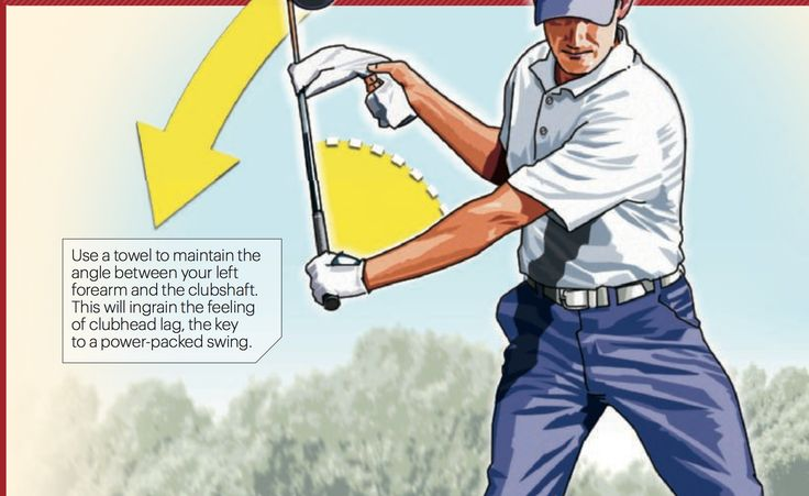 Golf Tips: How a Towel Can Provide Greater Distance Off the Tee   Golf.com