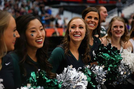 Hottest Michigan State Spartans cheerleaders Final Four 2015 NCAA Tournament