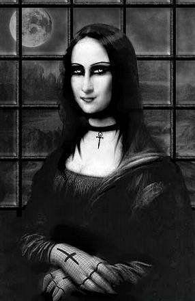 Monalisa gótica.