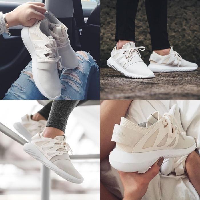 【时尚单品】【Adidas Tubular Viral】女生专属sneaker!看过的都说美!