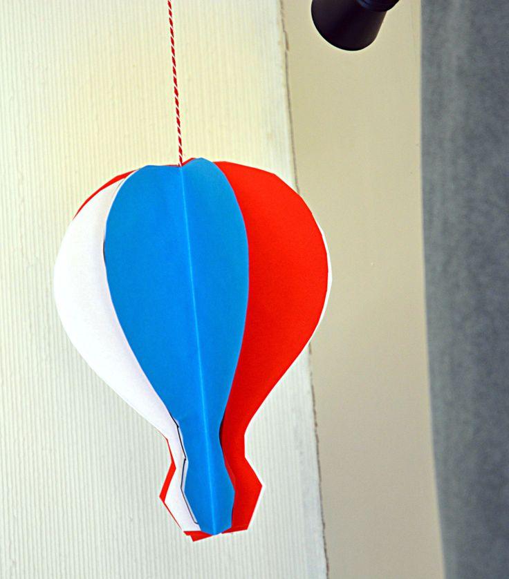 Festlige lutfballonger til 17.mai