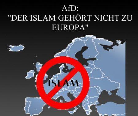 Der Islam gehört nicht zu Europa! — AfD