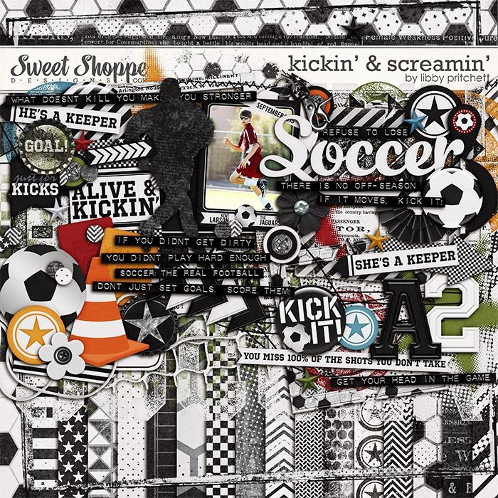 90 best Sports scrapbooking kits images on Pinterest ...