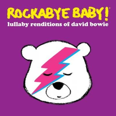 Rockabye Baby! Lullaby Renditions of David Bowie: Need to make some changes to baby's bedtime? Don't spend your golden years feeling sleep deprived. These dreamy versions of David Bowie's best-loved songs will have your baby sound asleep in no time. A good night's sleep is always in fashion.Tracks include: Heroes, Changes, China Girl, Let's Dance, Rebel Rebel, Fame, Golden Years, The Man Who Sold the World, Modern Love, Young American, Space Oddity, AND Life on Mars?