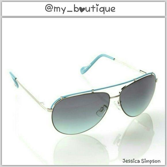 HP Jessica Simpson Sunglasses NWT  Color Is A Dark Teal _Best Dressed 9/2_ Jessica Simpson Accessories Sunglasses