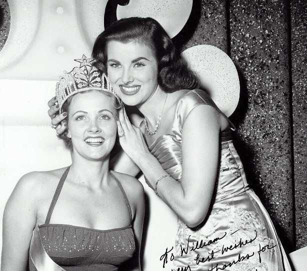 July 24, 1954 - Miriam Stevenson became the third Miss Universe