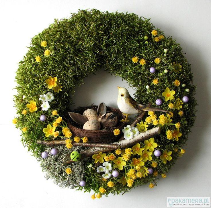 Wielkanoc - wianki-Wianek Wielkanocny VI