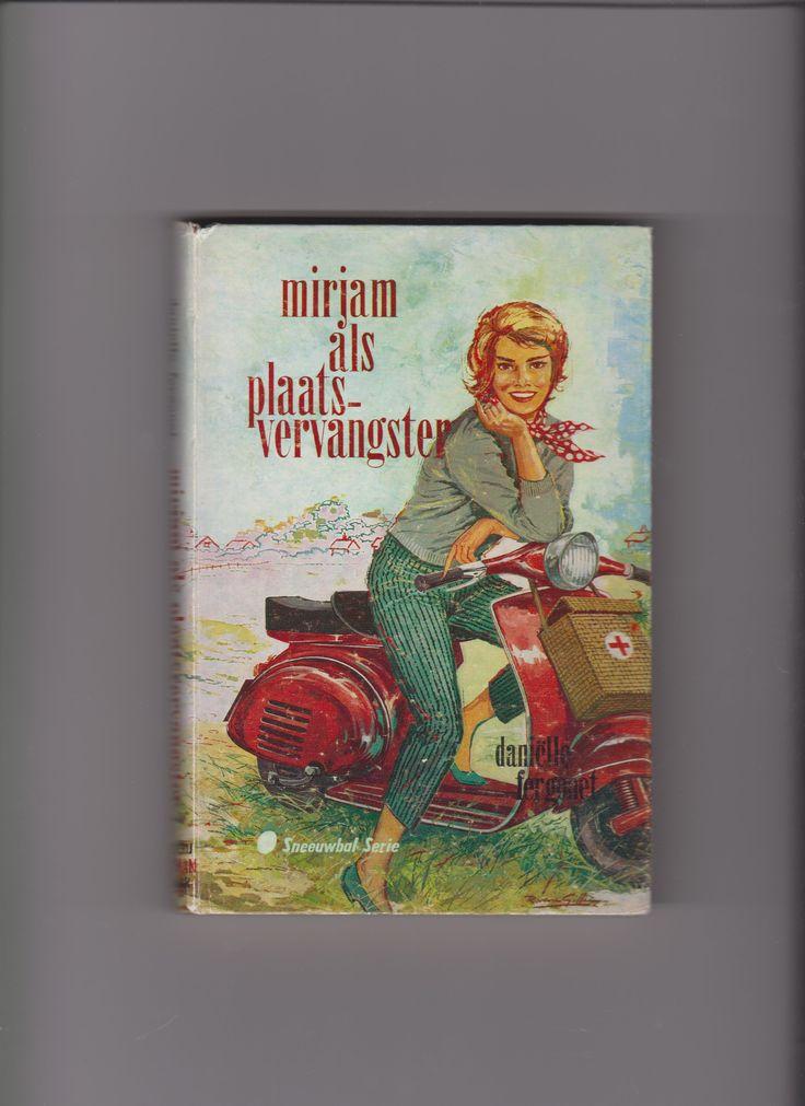 Mirjam als Plaatsvervangster (holländisch)  Autor: Daniëlle Fergonet,  Illustration: Rudy van Giffen Verlag: Uitgeverij Kluitman, Alkmaar (NL), 1958