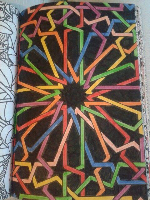De tweede enige echte kleurboek voor volwassenen. Gemaakt door Eef ♡