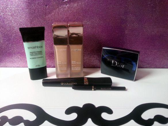 My daily makeup routine #makeup #dior #collistar #smashbox #clarins
