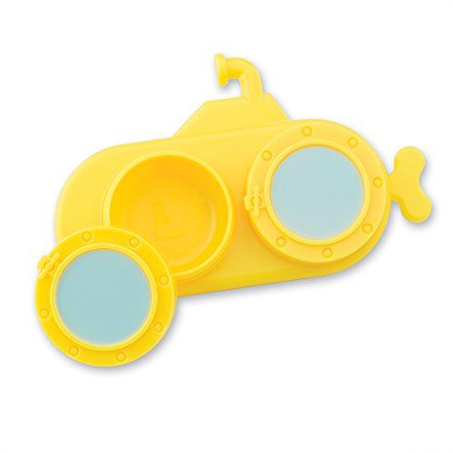 #new Submerge your contacts in this twist-on, leak proof case. This adorable submarine contact case mimics the #yellow submarine in your favorite Beatles song! T...
