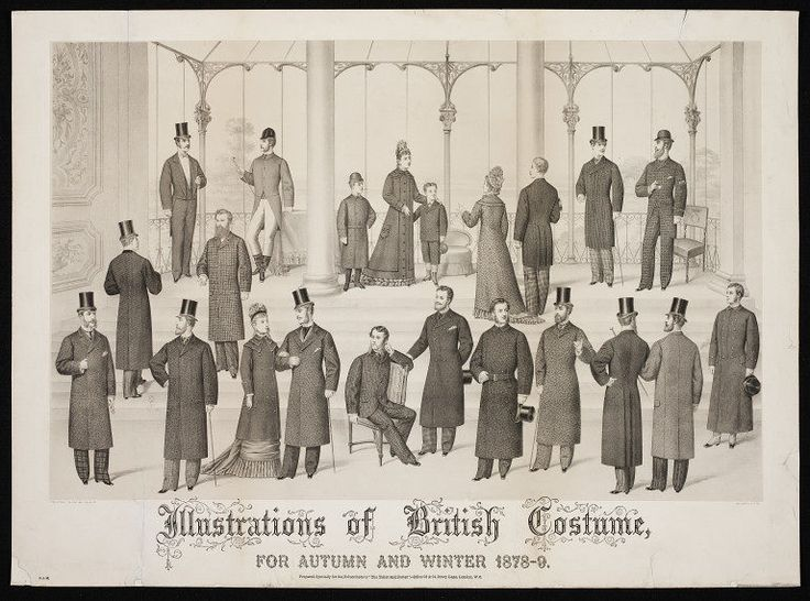 Illustrations of British Costume for Autumn and Winter 1878-9 | John Williamson Company | V Search the Collections