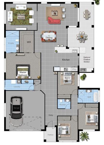 DanBuilt House Plan - Cotter