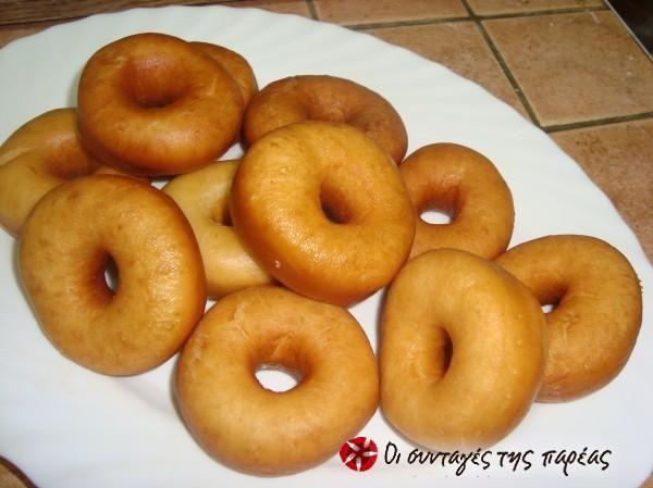 Συνταγή για ντόνατς #sintagespareas