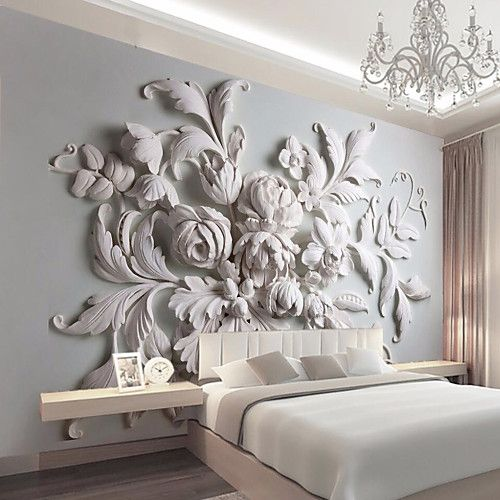 Mural Canvas Wall Covering – Adhesive required Art Deco 3D 2018 – US $67.99