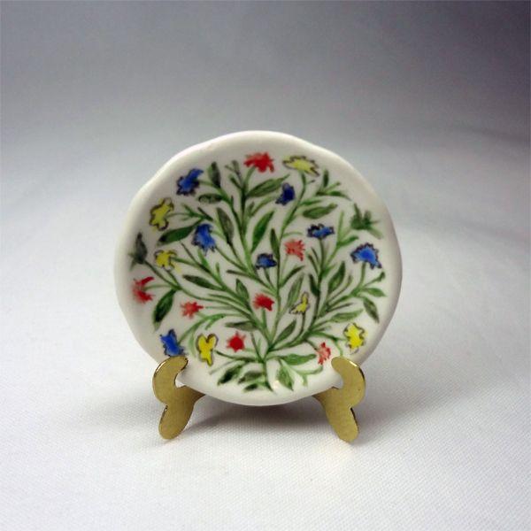 porcelain 1:12 majolica technique
