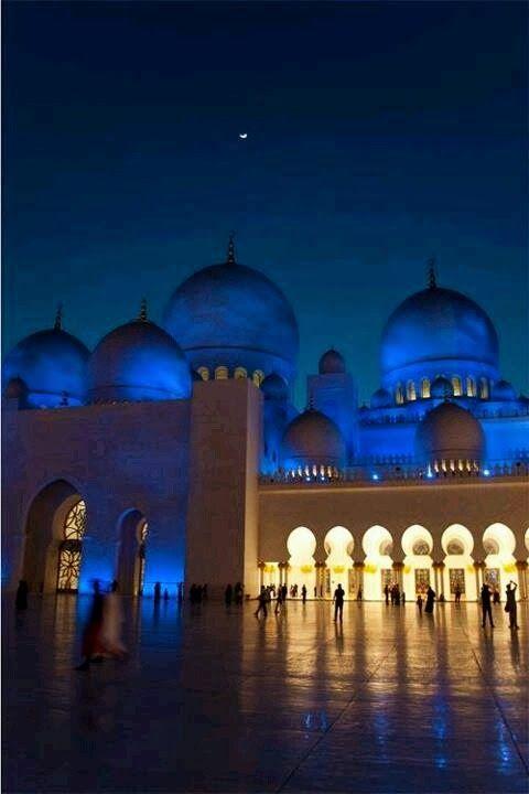 Night time in Arabia