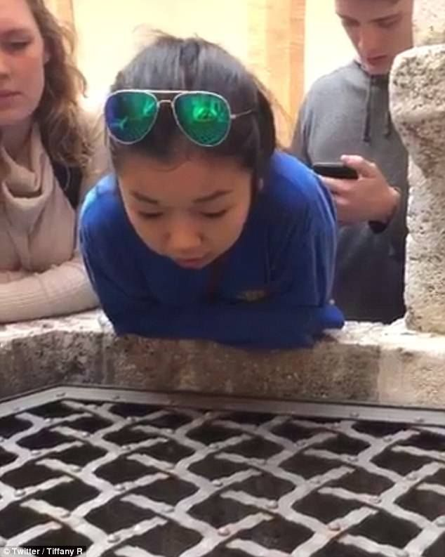 Italy  Angel voice!!!! Kansas teen becomes online hit after singing into well | Daily Mail Online