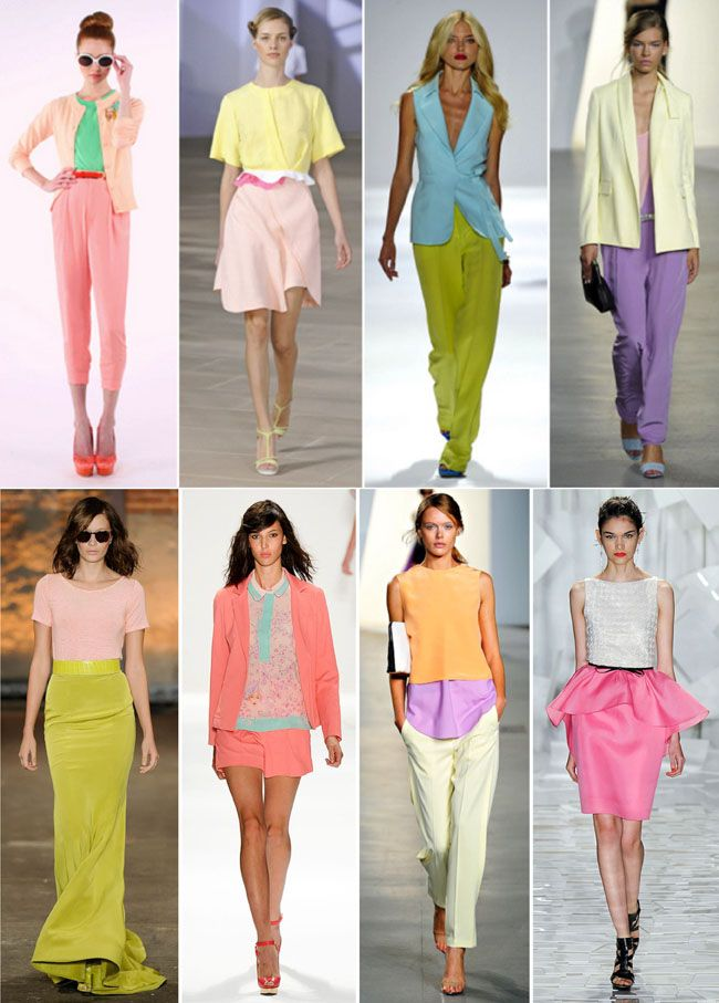 SS 2012: full of sorbet colours