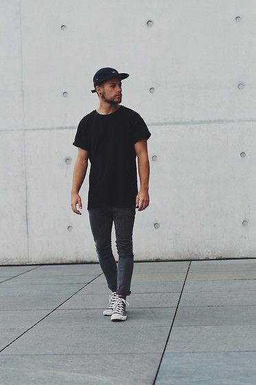 Get this look: http://lb.nu/look/7738024 More looks by Kevin Elezaj: http://lb.nu/kevinelezaj Items in this look: Converse Shoes, Asos Jeans, Topman T Shirt, Obey Cap